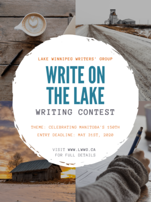 Write on the Lake 2020 Contest Poster
