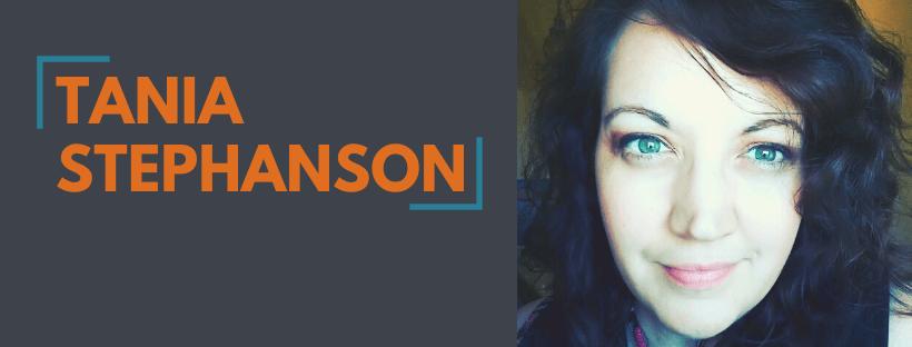 Tania Stephanson Author Spotlight Announcement Website Slider